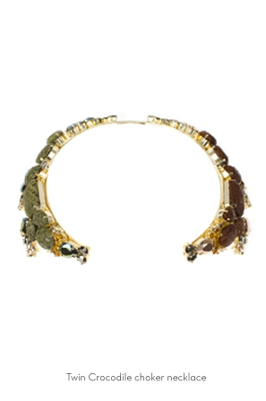 twin-crocodile-choker-necklace-Bijoux-de-Famille