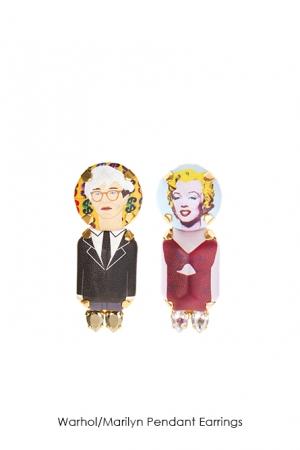 warhol-marilyn-pendant-earrings-Bijoux-de-Famille