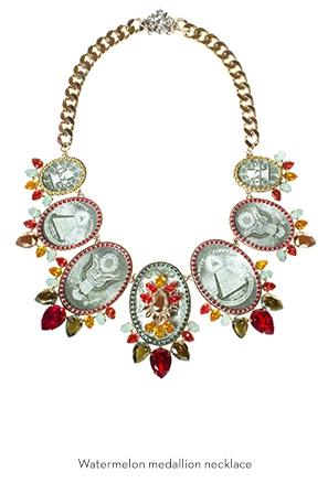 watermelon-medallion-necklace-Bijoux-de-Famille