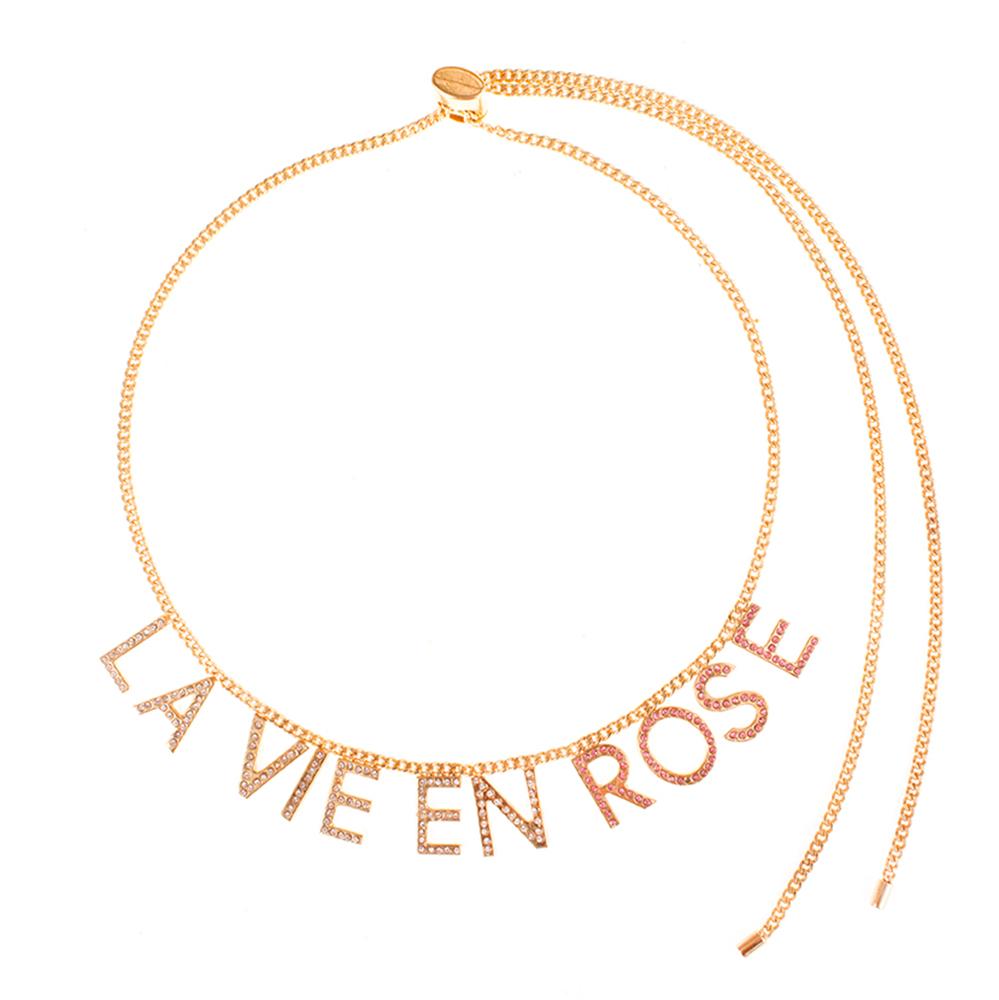 Collier La vie en rose
