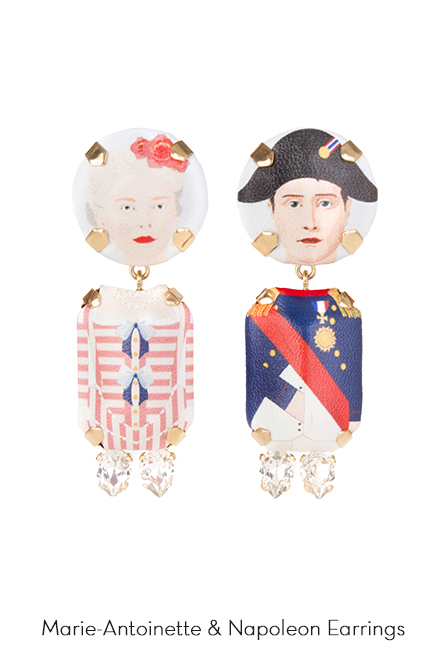 MarieAntoinette-Napoleon-Art-Earrings-Bijoux-de-Famille