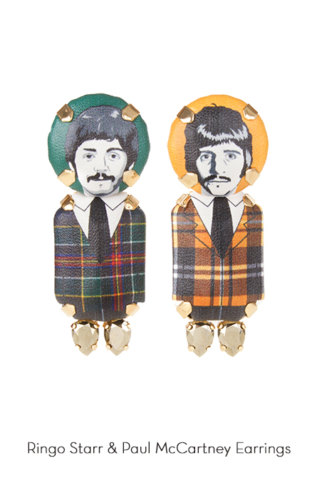 RingoStarr-PaulMcCarthney-Earrings-Bijoux-de-Famille