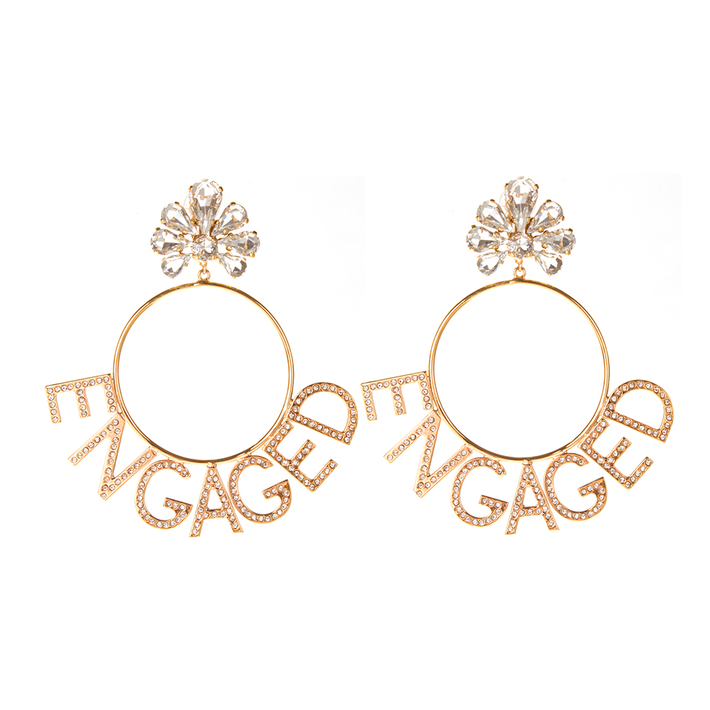 Boucles d'Oreilles Hoops Engaged
