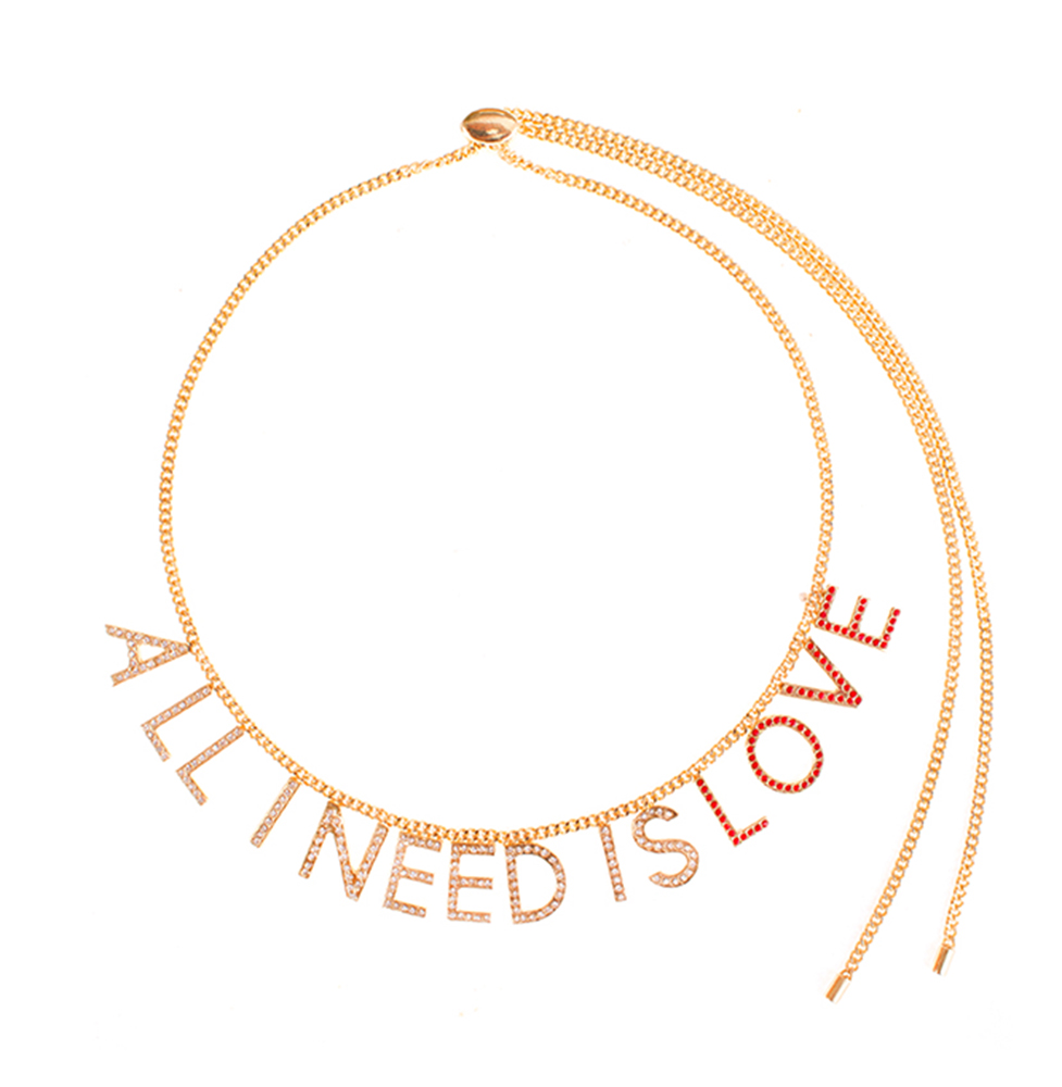 Collier All I Need Is Love