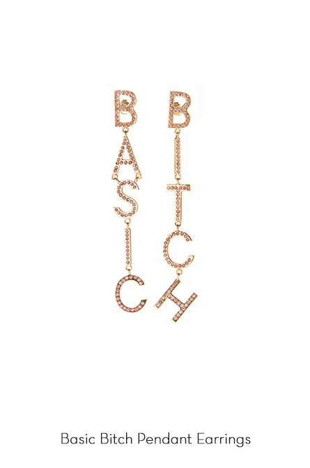 Basic Bitch Earrings