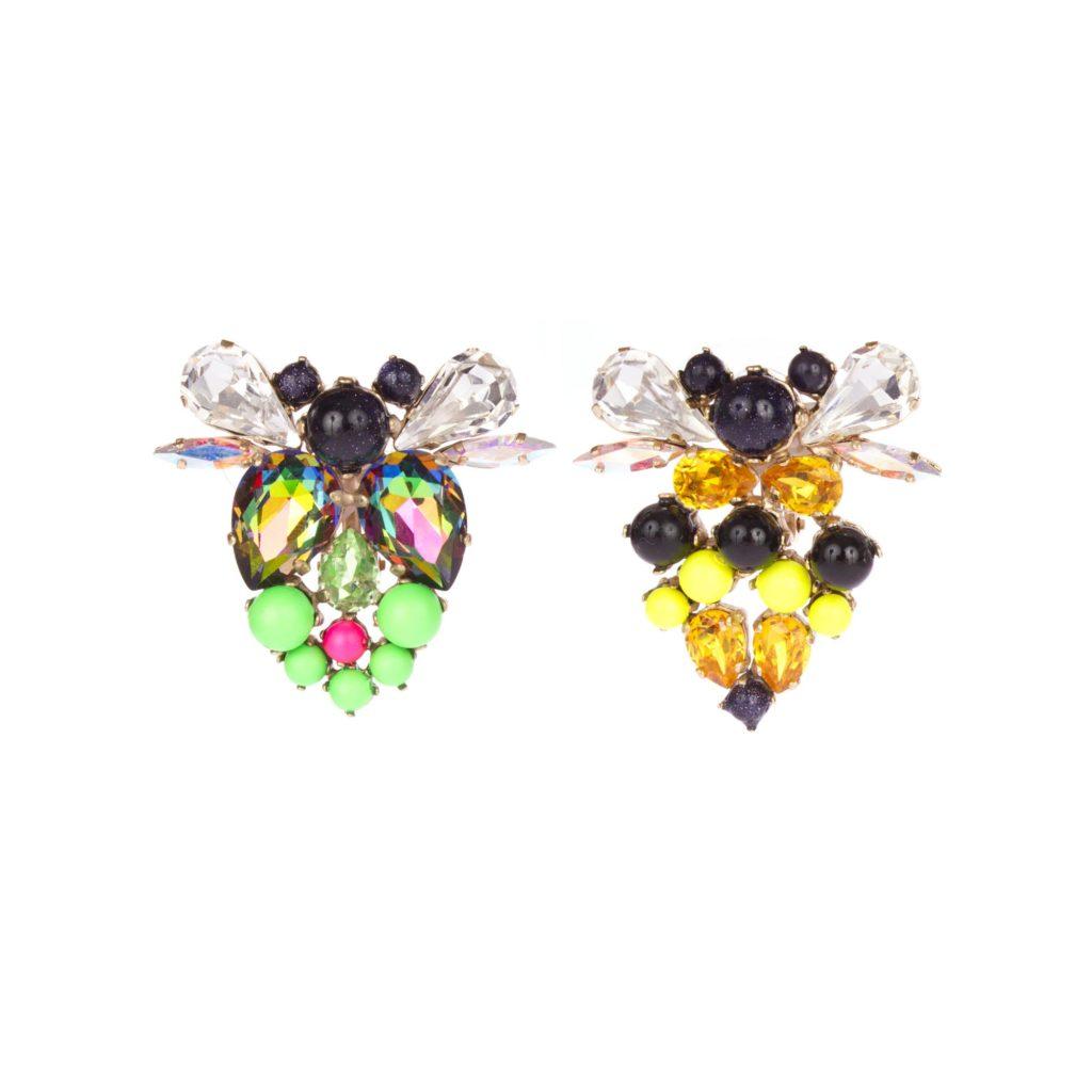 Boucles d'Oreilles Beatle Bee