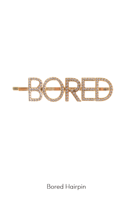 Bored Hairpin