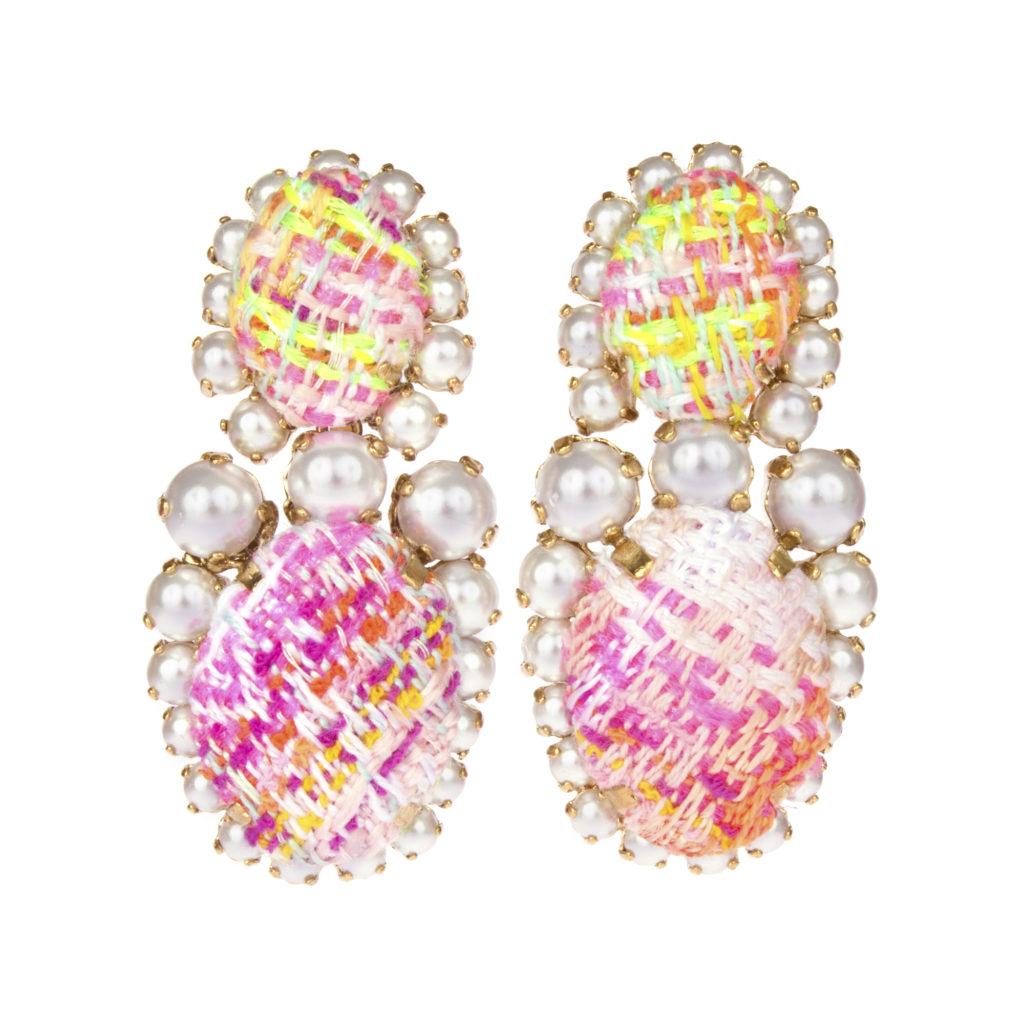 Boucles d'Oreilles Neon Tweed