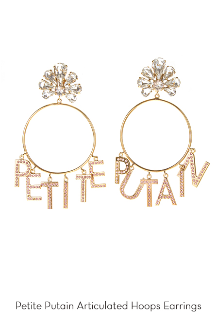 Petite Putain Hoops Earrings