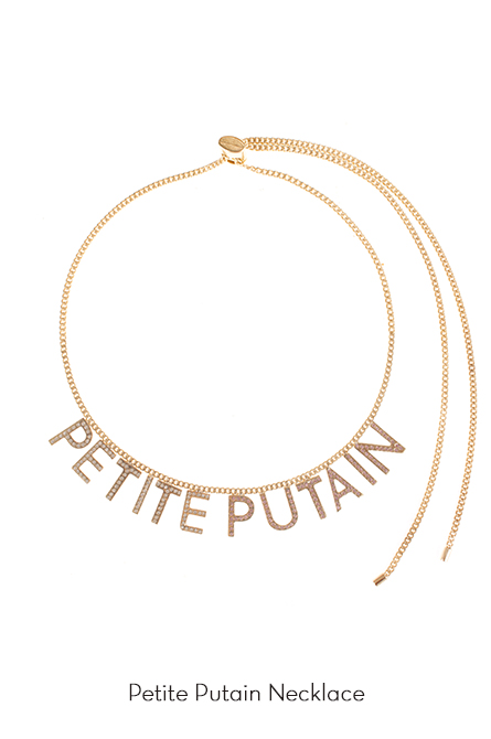 Petite Putain Necklace