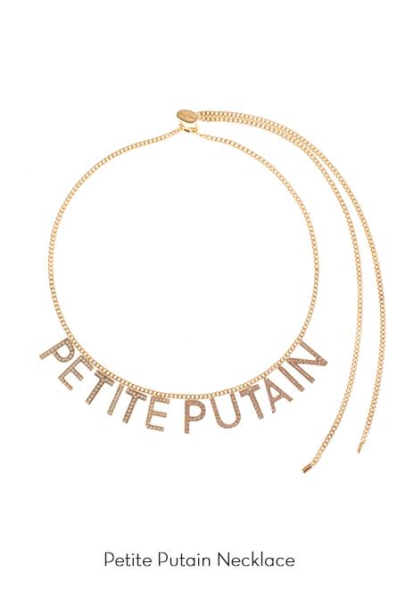 Petite Putain Necklace