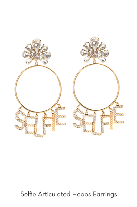 Selfie Hoops Earrings
