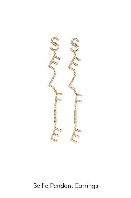 Selfie Earrings