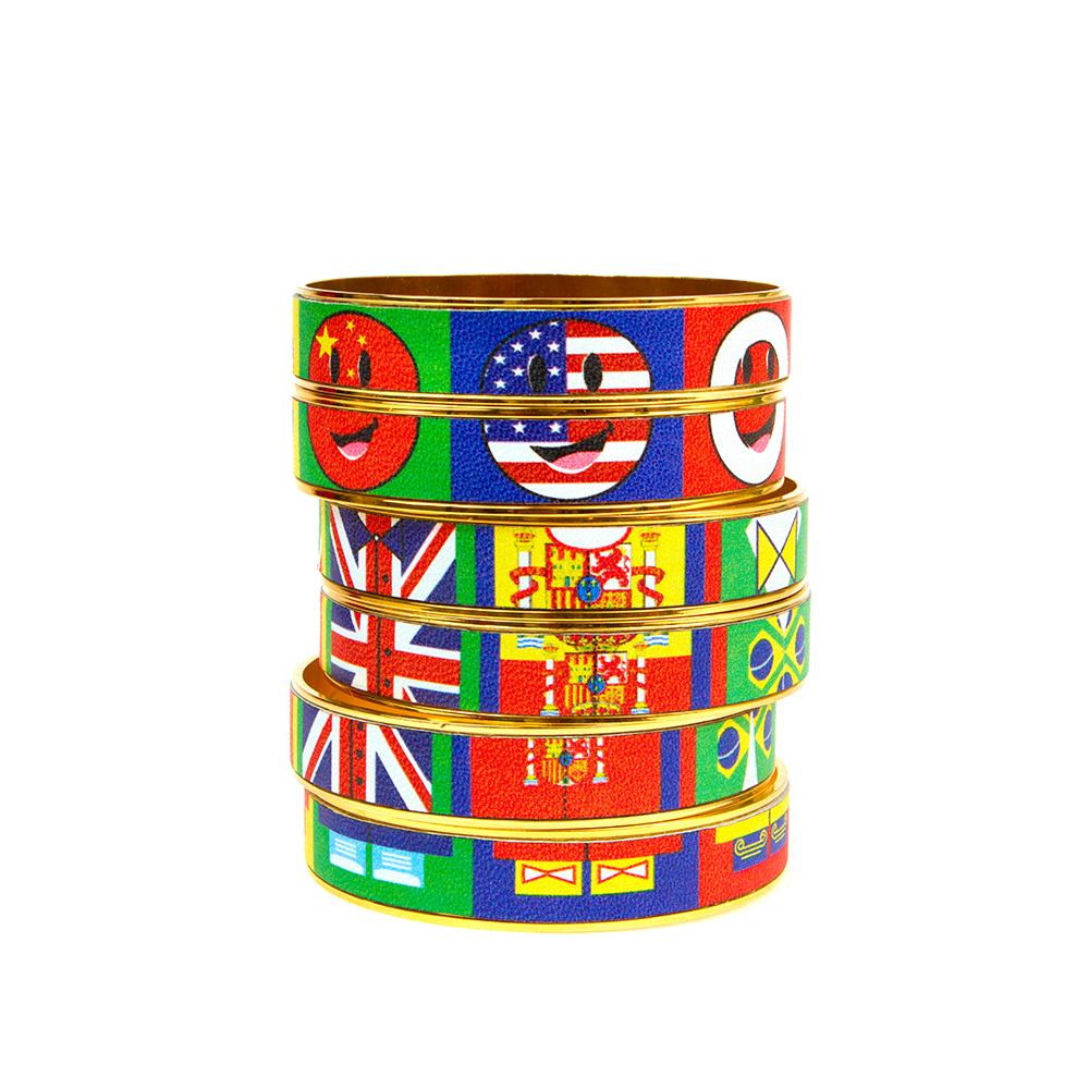 Flag Me Bangle