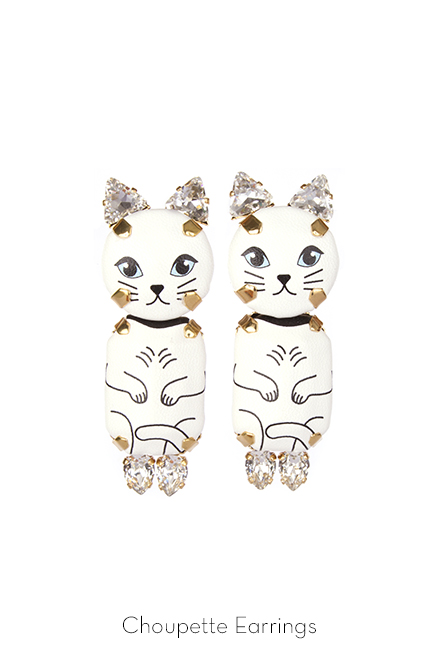 Choupette Earrings