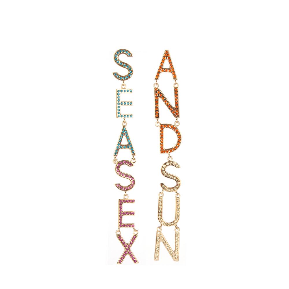 Sea Sex and Sun Earrings