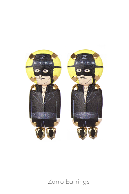 Zorro Earrings