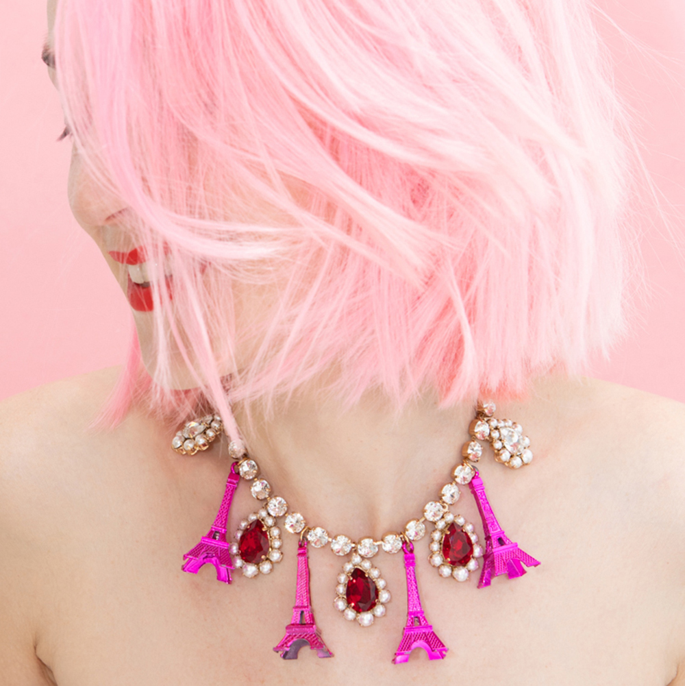 Collier Moulin Rose