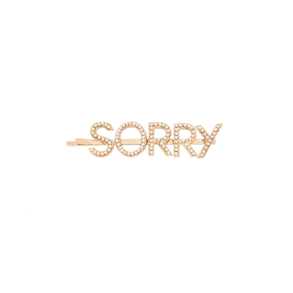 Barrette Sorry